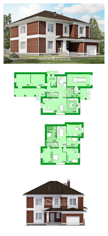 Проект дома 315-001-П | House Expert