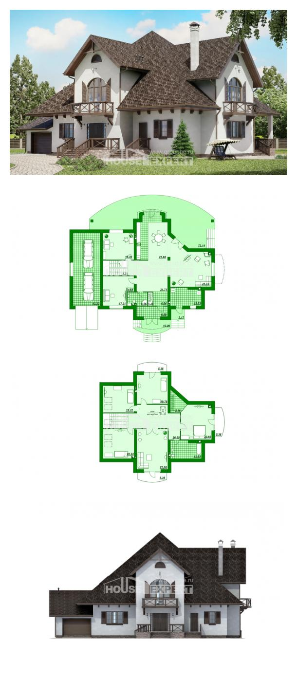 Проект дома 350-001-Л | House Expert