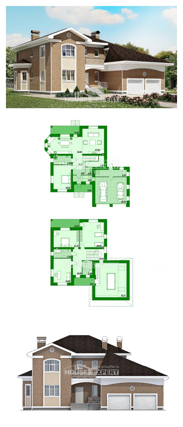 Проект дома 335-002-П | House Expert